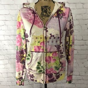 Lucky brand zip up hoodie
